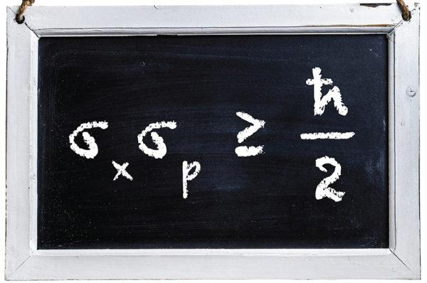 هل تتفق علاقة دي برولي p = h/λ مع مبدأ عدم التحديد ل هيزنبرغ Δx.Δp=ℏ/2 !