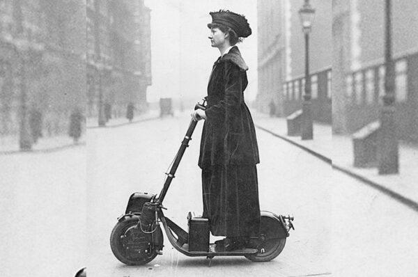 ال Autoped، أول دراجة سكوتر في العالم