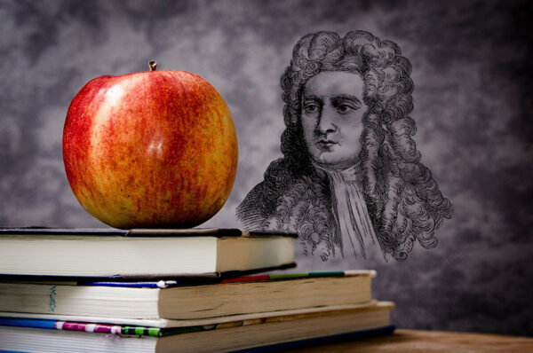 ذكرى ميلاد نيوتن، ما الطريفة التي حدثت له مع برنولي ؟